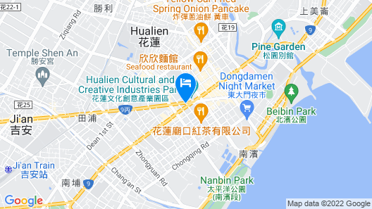 View Hostel Map