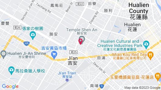 Hualien HBEL BnB Map