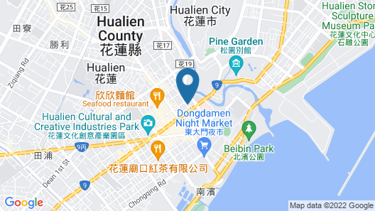 Quality Inn Hualien Map