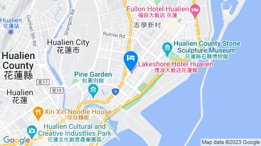Lakeshore Hotel Hualien Map