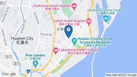 Chateau de Chine Hotel Hualien Map