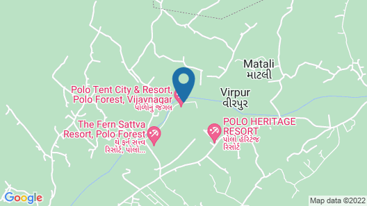 POLO TENT CITY & RESORT Map