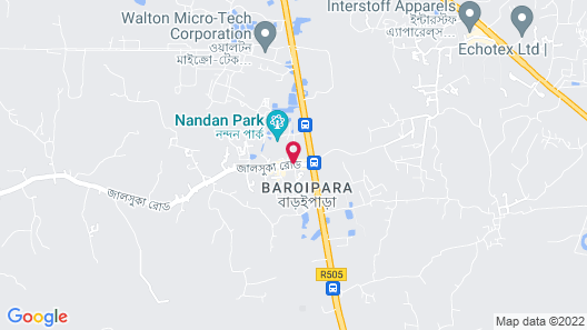 Nandan Village Resort Map