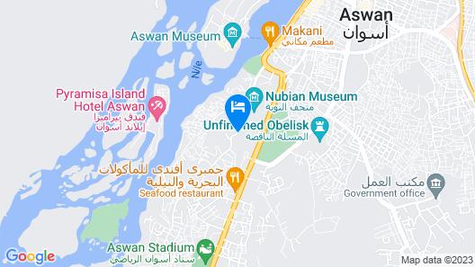 Basma Hotel Aswan Map