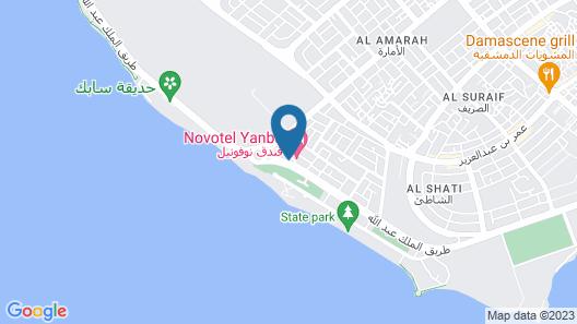 Novotel Yanbu Map