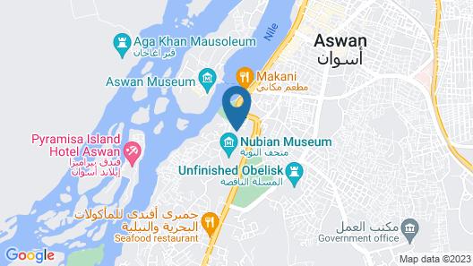 Sofitel Legend Old Cataract Aswan Map