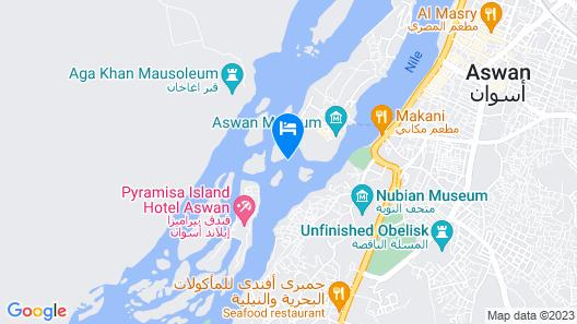 Aswan Nubian House Map