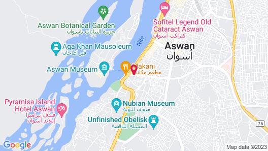 Nile Hotel Aswan Map