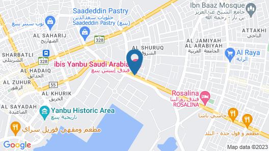 Ibis Yanbu Saudi Arabia Map