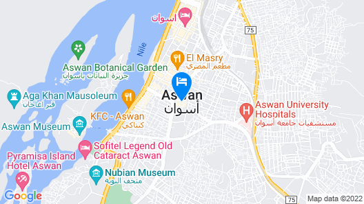 Aswan Cozy Apartment. Map