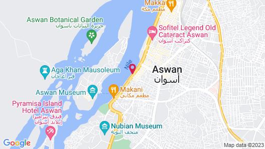 MS Movenpick Prince Abbas Nile Cruise Map