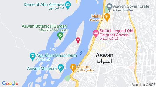 Movenpick Resort Aswan Map