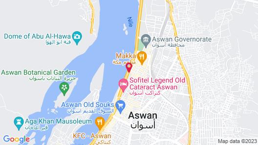 Citymax Hotel Aswan Map