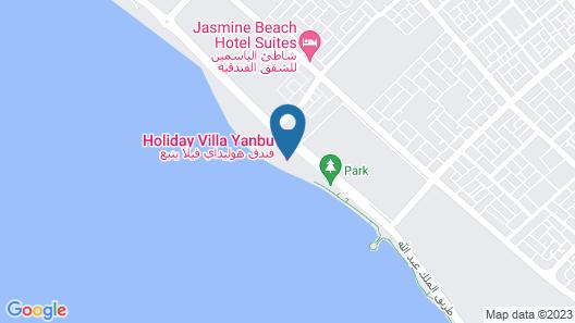 Holiday Villa Yanbu Map
