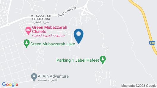 Mercure Grand Jebel Hafeet Al Ain Hotel Map