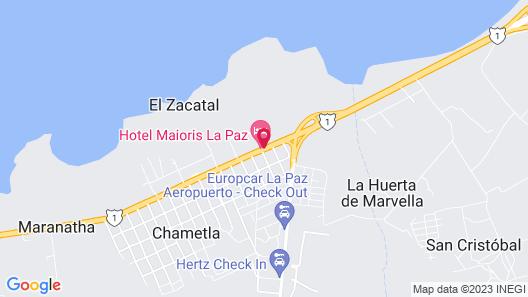 Hotel  Maioris La Paz Map