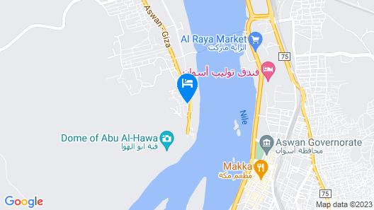 Aragheed Nubian Guest House Map