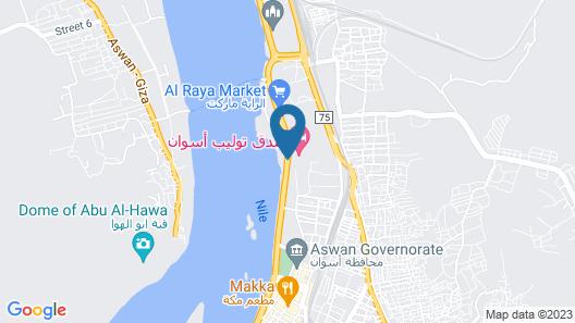Tolip Aswan Hotel Map