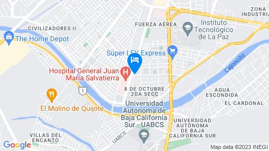 Capital O Hotel Salvatierra Map