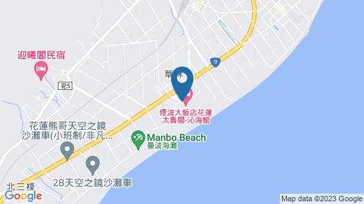 Lakeshore Hotel Hualien Taroko Map