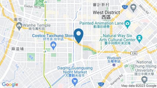 Fudi hotel Map