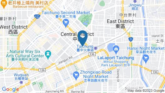 53 Hotel Map