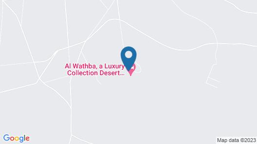 Al Wathba, a Luxury Collection Desert Resort & Spa, Abu Dhabi Map