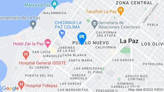 Hacienda Jalisco Map