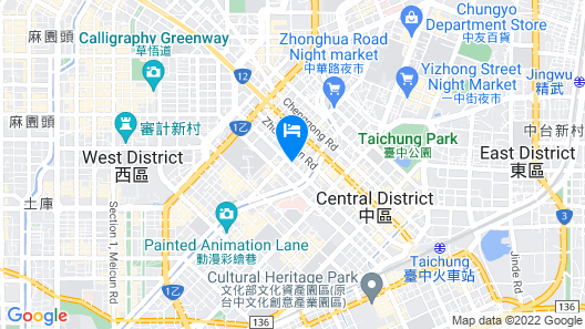 RedDot Hotel Map