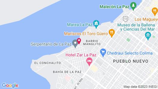 La Posada Hotel & Beach Club Map