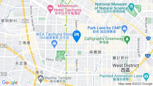 The Tango TaiChung Map