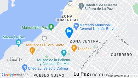 B&B Casa Juarez Map