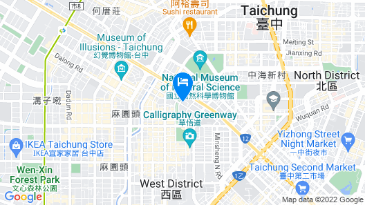 Hotel National Map