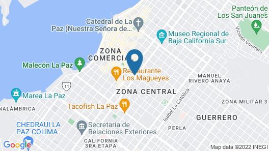 One La Paz Hotel Map
