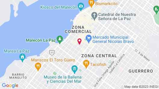 Hotel HBlue Map