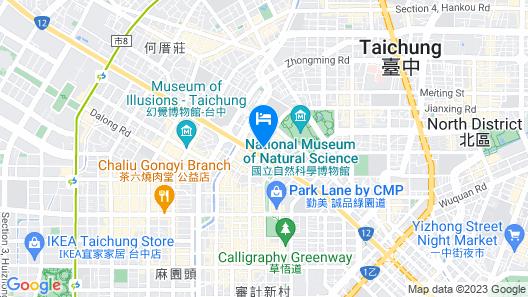 The Splendor Hotel Taichung Map