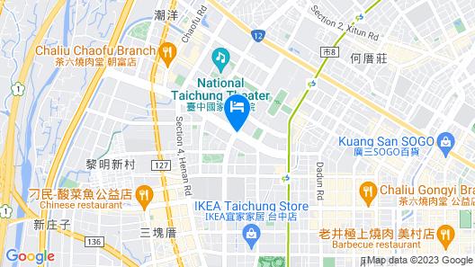 Millennium Hotel Taichung Map