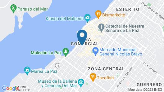 Hotel Lorimar Map