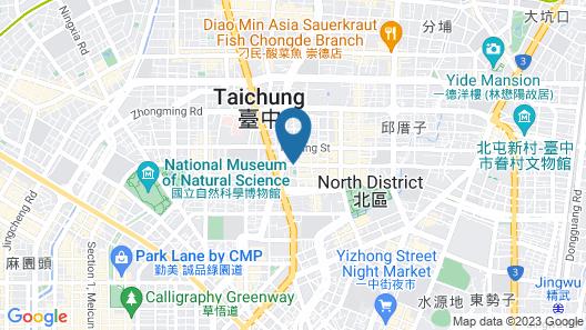 Ren Mei Business Hotel Map