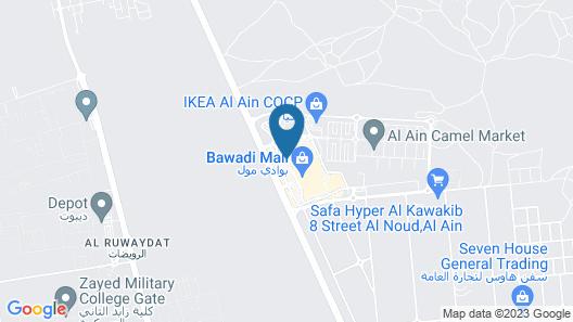 Ayla Bawadi Hotel & Mall Map