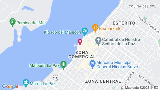 Casa al Mar Map