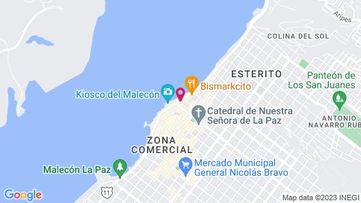 Hotel Baja Club Map