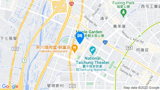 The Lin Hotel Map