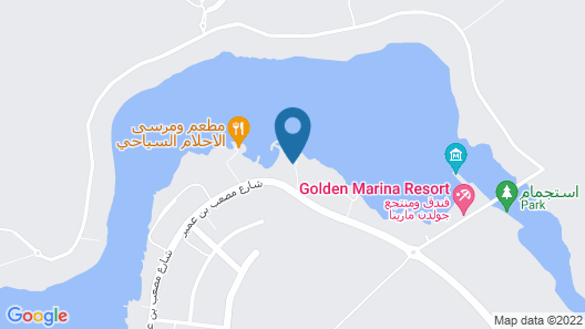Dolphin Beach Resort (Families only) Map