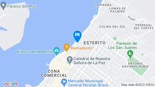 Las Gaviotas Resort Map