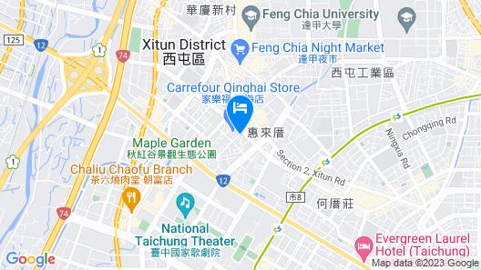 Hotel Mapp Map