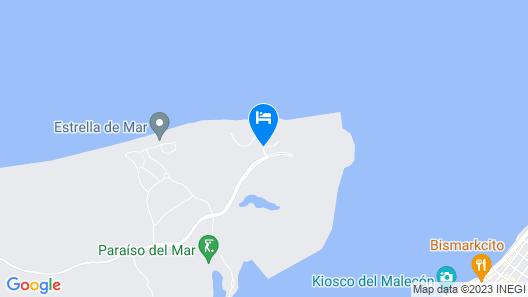 Paraiso Del Mar Resort PDM B203 1 Bedroom Condo by Seaside La Paz Map