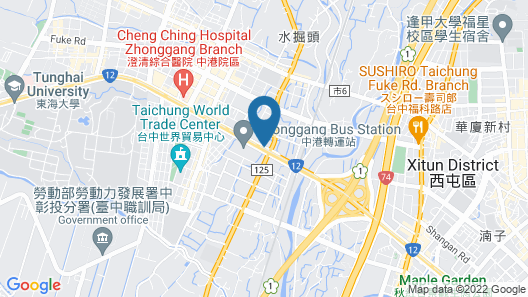Windsor Hotel Taichung Map