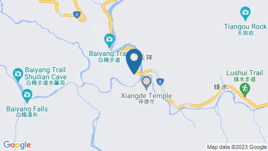 Silks Place Taroko Map