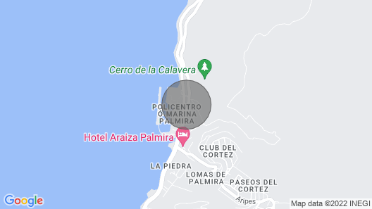 Unique Luxury Home in The Sea Of Cortez for 6 Peop Map